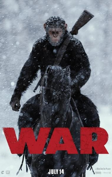 猩球崛起3终极之战 公布新前瞻预告:人猿大战一触即发的照片 - 2