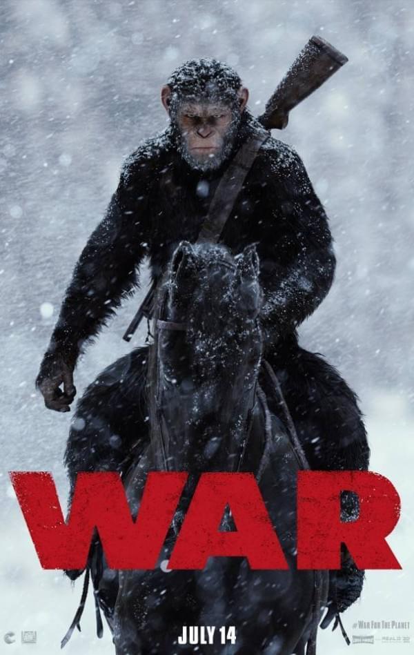 《猩球崛起3》首曝预告片和海报的照片