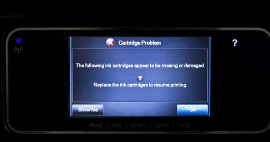 惠普让步:将推出新固件取消第三方墨盒认证限制的照片