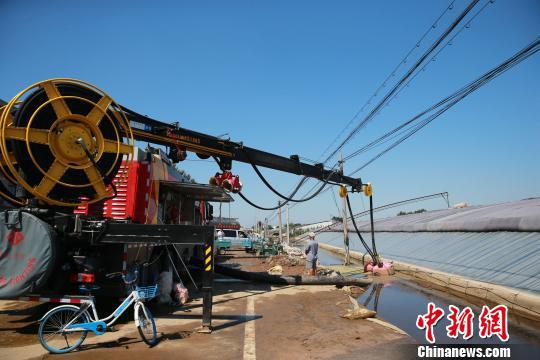 山东潍坊洪灾进入灾后重建全力恢复正常生产生活