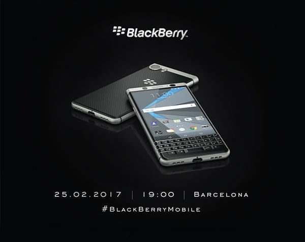黑莓宣布在MWC 2017前发布新机:Mercury 2月25日亮相的照片