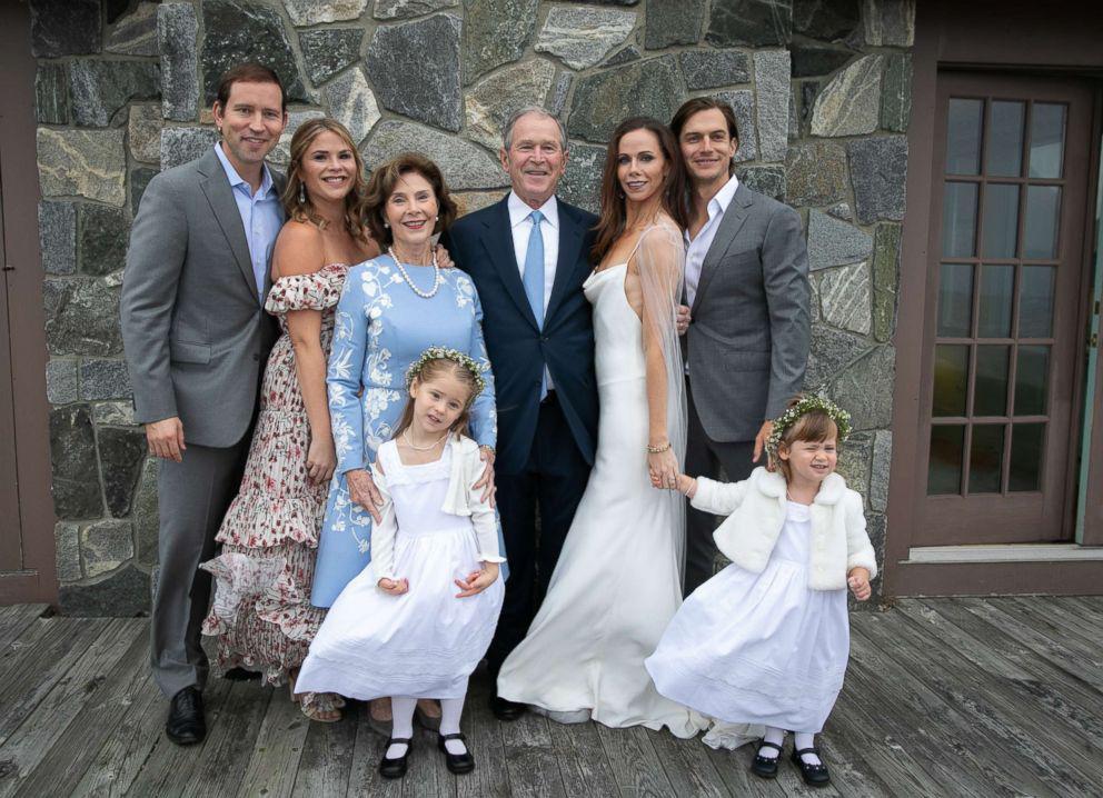 小布什女儿低调办婚礼:过程简短 对外绝对保密