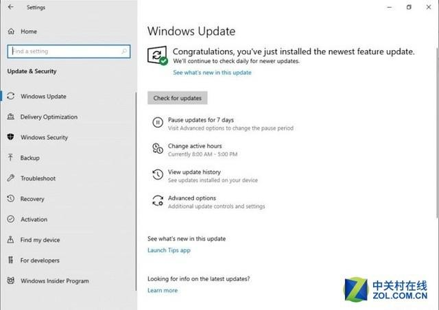 Windows 10以后不会胡乱重启了:更新机制有变