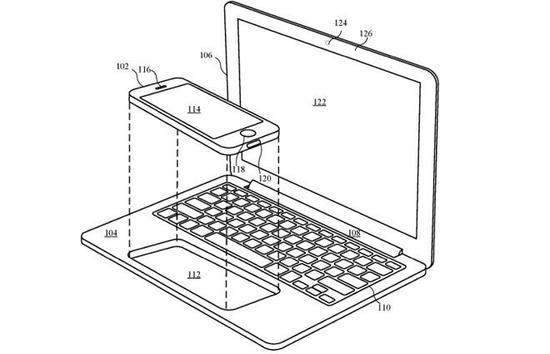 苹果新专利曝光:iPhone/iPad秒变MacBook