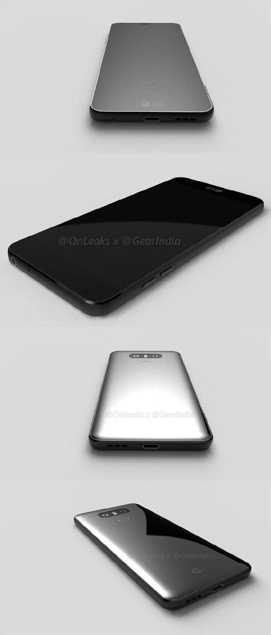 LG G6渲染图再曝光 确定取消模块化设计