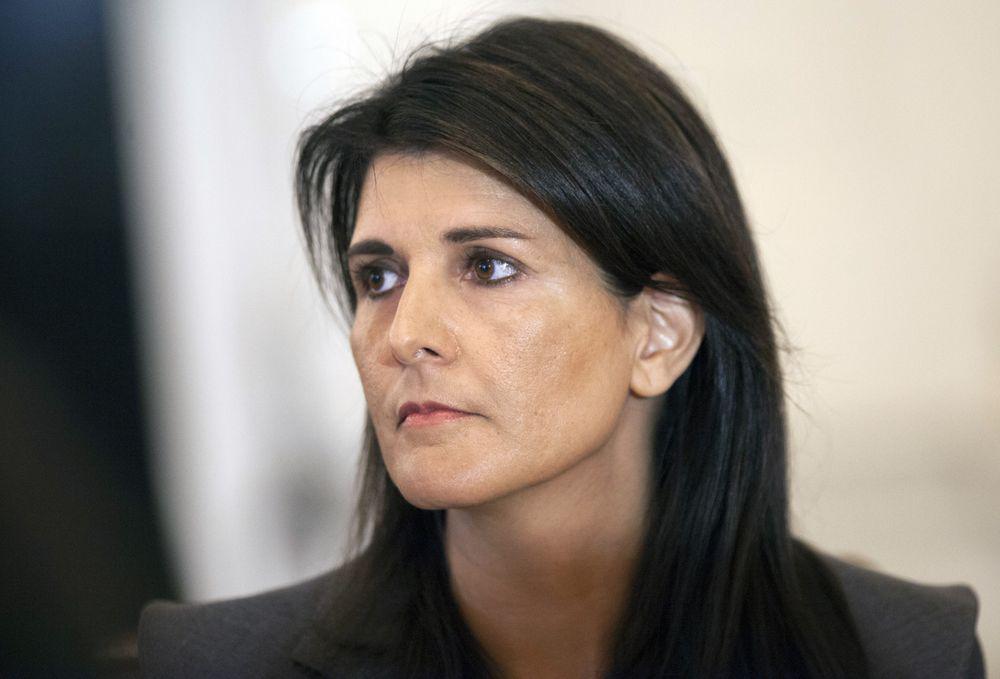 美常驻联合国代表黑莉将参选总统?否认:支持特朗普