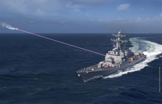 火力无限!美军研发新型舰载集成高能激光武器