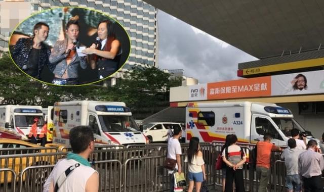 演唱会舞台坍塌 多位艺人受伤现场一片混乱