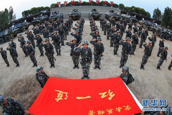 传承红色基因 担当强军重任——献给中国人民解放军建军91周年