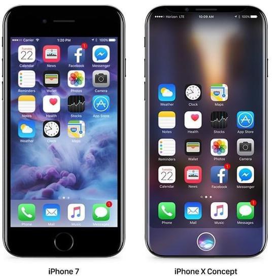 iPhone 8最新外形图曝光