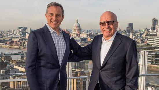 迪士尼CEO Bob Iger与默多克
