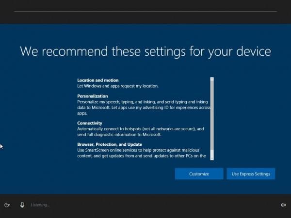 Windows 10新技能:不用键鼠执行安装过程的照片 - 3