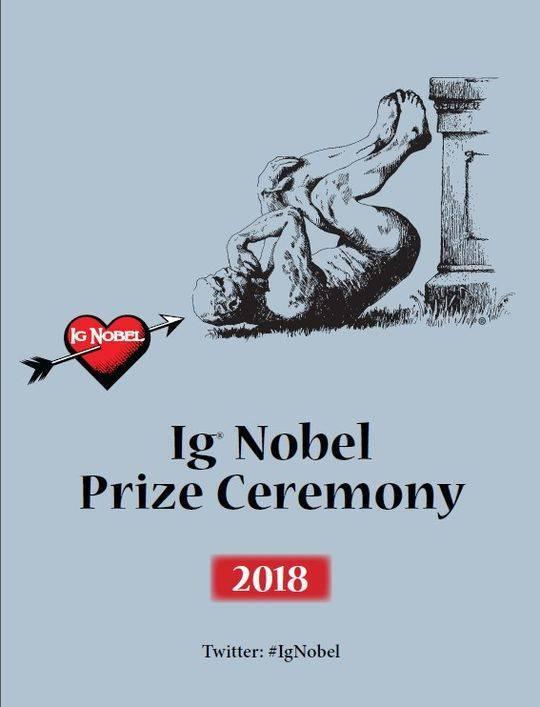 2018年搞笑诺贝尔奖揭晓:过山车可加速肾结石脱落