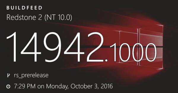 Windows 10 Build 14942发布:为大内存PC特别优化的照片 - 1