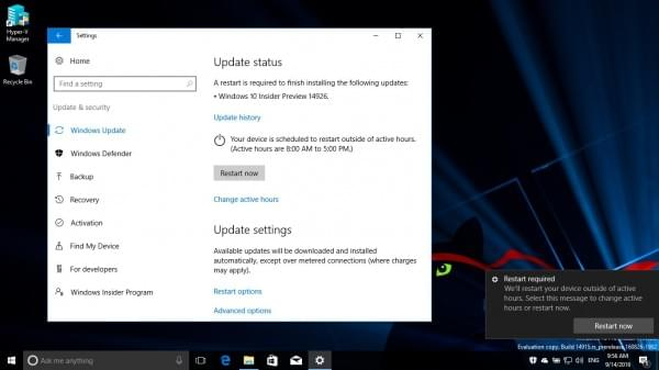 Win10 Build 14926发布:Insider旧版本10月15日后无法启动的照片 - 5