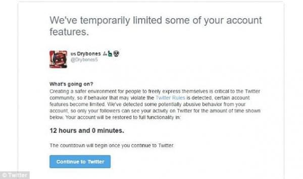 Twitter官方推出监管措施:污言秽语会被停号