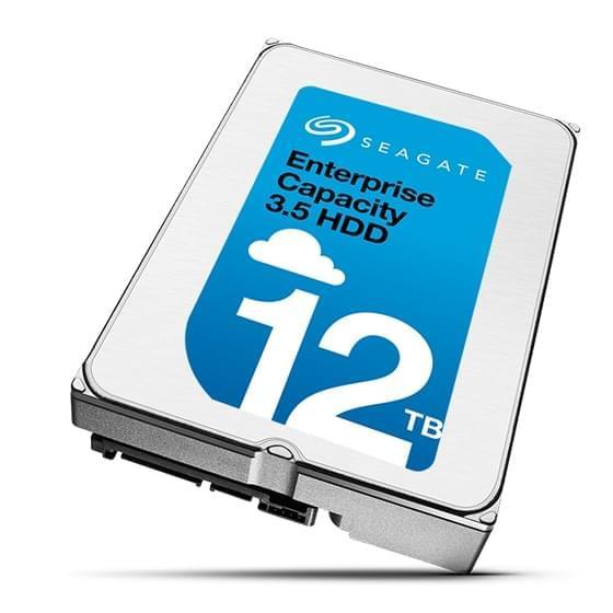 希捷正式发布12TB硬盘:二代充氦 单碟1.5TB的照片 - 1