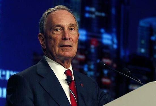 """前纽约明星市长""""回归""""民主党 或角逐下届美国总统"""