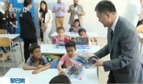 中国援助惠及8万余名黎巴嫩境内叙利亚难民儿童