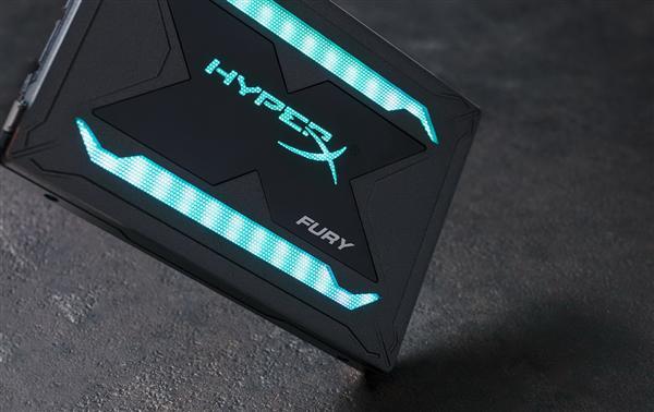 金士顿发布HyperX Fury-RGB-SSD:49颗灯珠