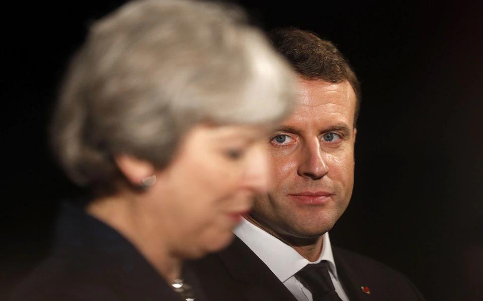 """马克龙""""松口"""":若英国二次公投留欧 就欢迎英""""归来"""""""