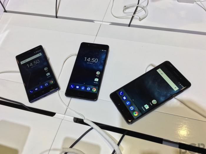 Nokia 3和Nokia 5现场真机上手的照片 - 1