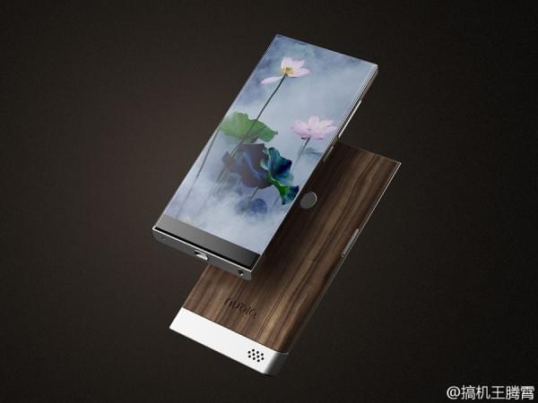 努比亚滑盖无边框手机概念图亮相的照片 - 7