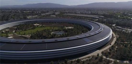 苹果总部Apple Park绿化:9000棵树变超级公园