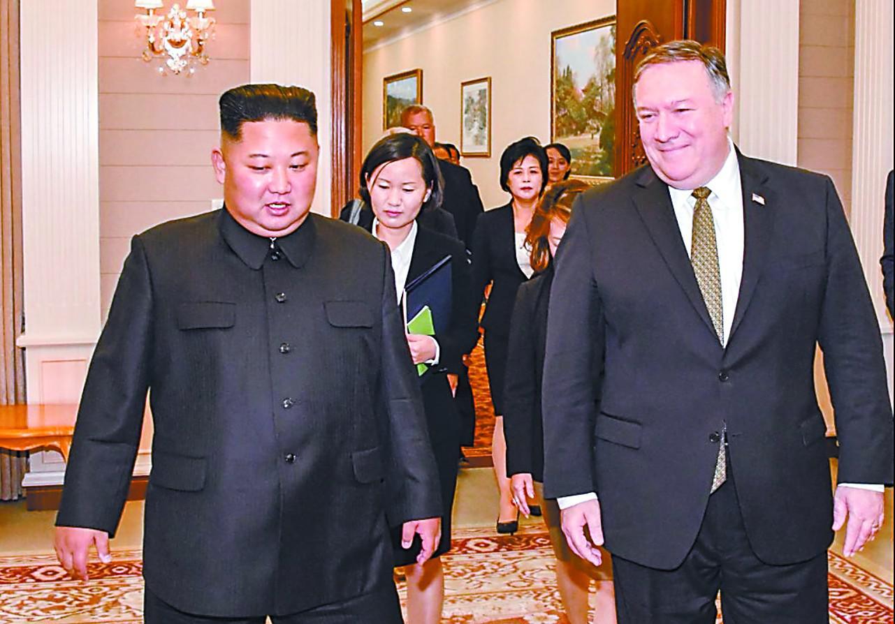 蓬佩奥访华 表示中国是解决朝鲜问题方案的一部分