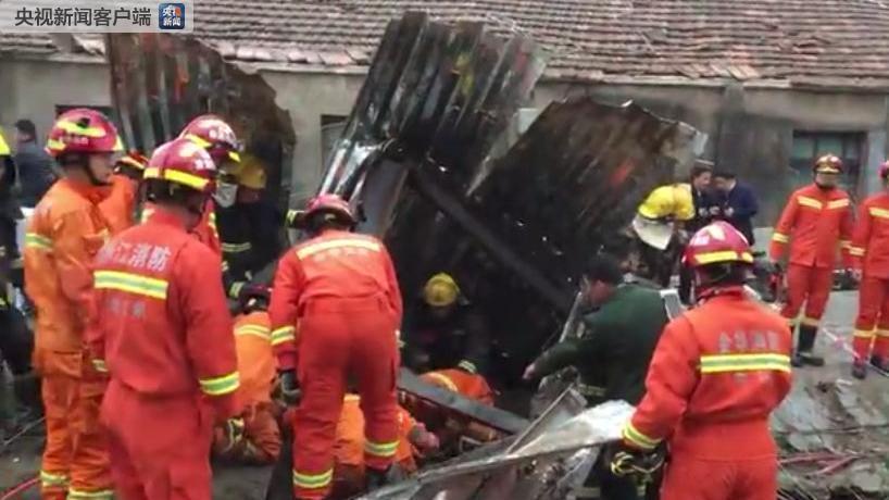 浙江金华厂房倒塌致2人死亡 相关责任人已被控制