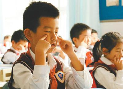 全国近视中小学生超过1亿 如何降低近视率