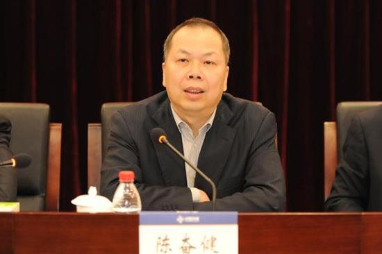中交集团总经理陈奋健已调任中国铁建董事长