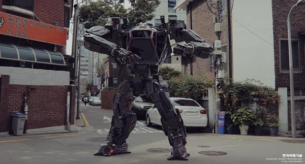 Hankook Mirae展示四米高的Method-2载人两足机器人的照片 - 3