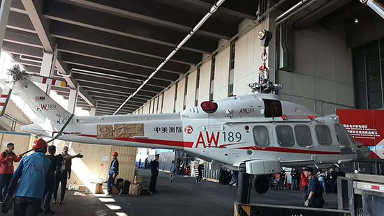 AW189直升機