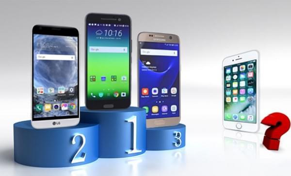 """iPhone 7被强行扣上 """"电池续航最差""""的帽子的照片 - 1"""