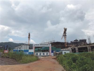 中弘危机持续发酵 170亿安吉项目停工