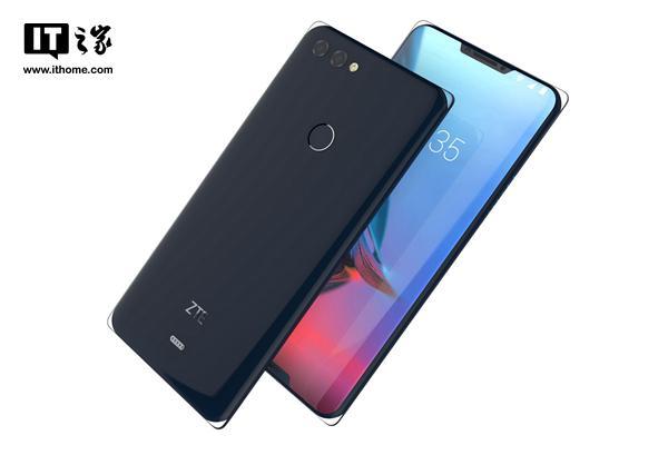 """中兴""""冰山""""手机设计图曝光:屏幕双刘海"""