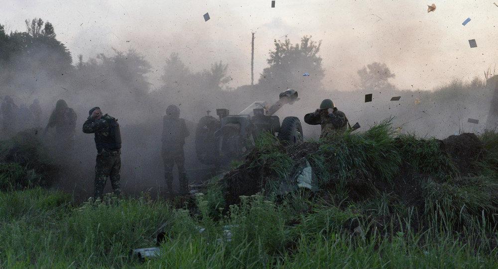 俄媒:乌军密集炮击顿涅茨克住宅区 还动用重炮