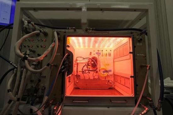 高等植物培养实验装置送达NASA肯尼迪航天中心进行测试