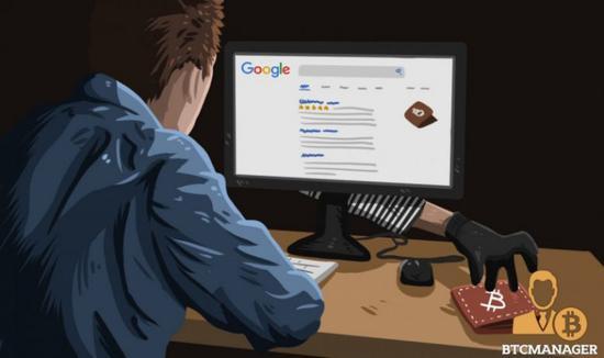 加密货币安全事故频发,乌克兰黑客组织利用谷歌广告盗取逾5000万美元