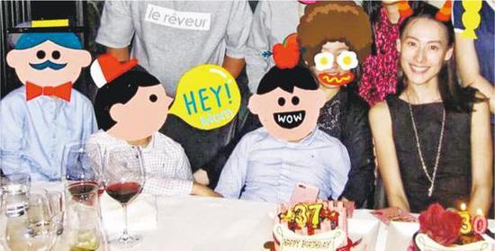 梁洛施开社交账号与家人庆30岁生日 宣布复出幕前