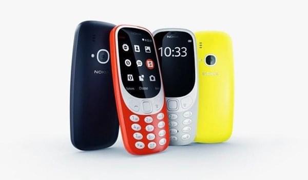 时隔17年情怀 新款诺基亚3310再次来袭