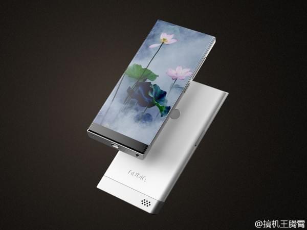 努比亚滑盖无边框手机概念图亮相的照片 - 4