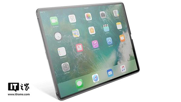 无边框苹果iPad Pro渲染图曝光:无前置摄像头