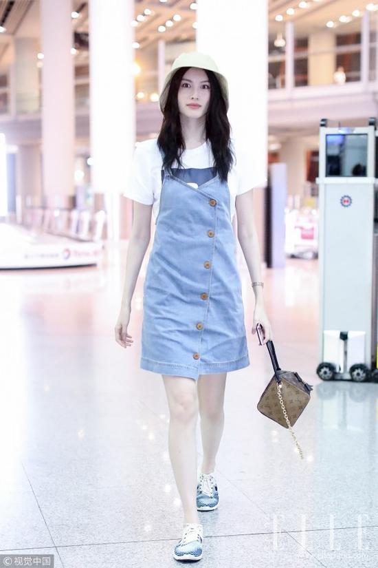 有了这条裙子,刘亦菲甚至都放弃了仙女裙!