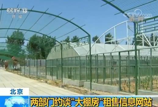 违规发布大棚房租售信息 北京两部门约谈58等网站