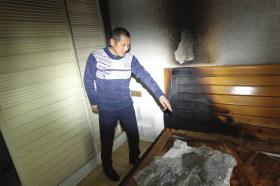 电热毯引发火灾 女孩靠机智救了被反锁卧室的弟弟