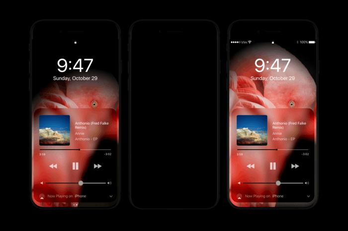 iPhone 8如何体现优势? OLED屏+暗黑模式+黑色机身的照片 - 2