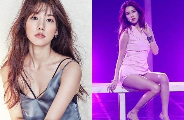 曾属女团T-ara及SPICA成员的杨知元