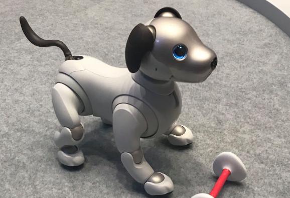 索尼重新在美国推出机器狗Aibo售价2899美元